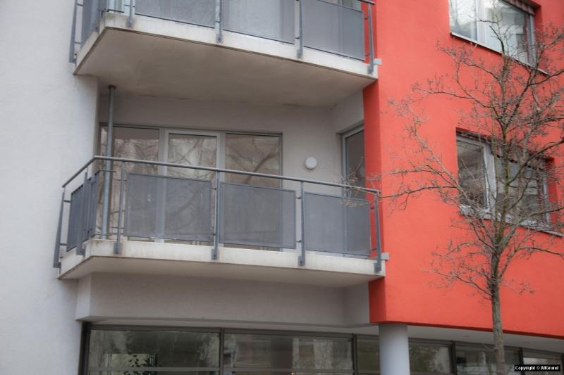 Balkon auf der Südostseite