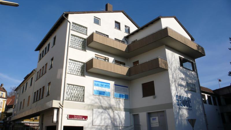 Ansicht Wohn- und Bürohaus