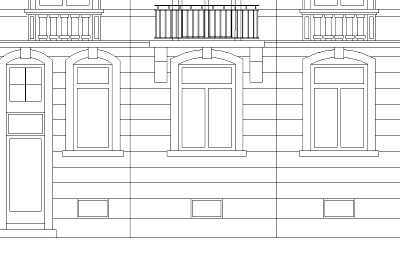 Fassadenzeichnung